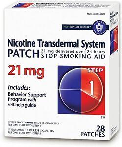 Habitrol Nicotine Transdermal System Patch | Stop Smoking Aid | Step 1 (21...