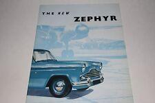 1955-56 Ford Zephyr Brochure, Original