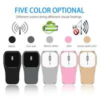 Optical 2.4G Wireless Mouse 1600DPI USB Rechargeable Silent Mice for Laptop Lot