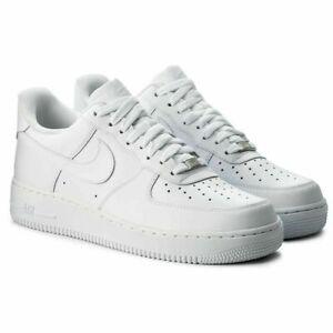 Nike Air Force 1' 07 Herrenschuhe Turnschuhe Herren Weiß 315122 Gr 41