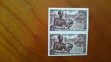 Afrique Equatoriale Française  Essai PA N° 60 X2