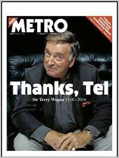 Terry Wogan Death Special Metro Newspaper February 1 2016
