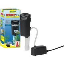 Tetra Whisper In-Tank Filter 3i for 1-3 Gallon Aquariums With Air Pump 2 Kits
