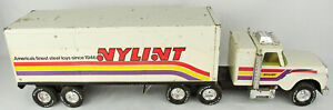 Vintage 1970s Nylint Pressed Steel Nylint Steel Toys Tractor Trailer Semi Truck