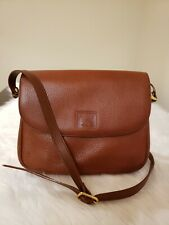 Authentic Burberry Brown Leather Shoulder Bag
