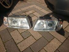 Audi a3 8 L 8l1 Facelift Phares Set en verre clair 09//00-03 xenon optique lentille
