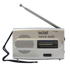 Radio portatile FM/AM radiolina tascabile BJL-R28 leggera altoparlante integrato