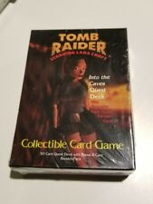 Tomb Raider Into the Caves Quest Deck Collectible Card Game New NIB C4