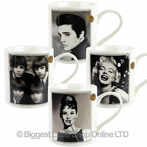 NEW Fine China Famous Icon Celebrity MUG CUP by Leonardo Gift Boxed Idol Pop