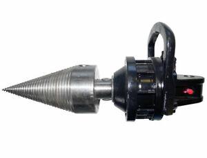 Drill- / Spaltkegel 120mm mit oder ohne Rotator, Kegelspalter, Holzspalter