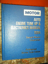 1991-94 MOTOR AUTO TUNE UP ELECTRONICS SERVICE MANUAL CADILLAC CHEVY BUICK OLDS