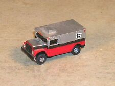 N Scale 1997 Red & Silver International Armored Truck