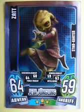 Force Attax Clone Wars Serie 4 (2013), Zatt (202), Star-Karten