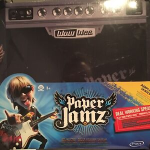 Paper Jamz Guitar Amplifier WOWWEE SERIES 1 - Factory Sealed New 6274