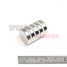 5 Magnets 20x5 mm Neodymium Disc very strong large round magnet 20mm dia x 5mm