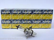 (2,90 €/unidad) 10 x Narva ® calidad 12v h4 60/55w zócalo p43t-38 halógenas turismos