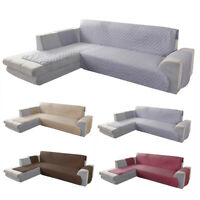 Sofa Cover 1 2 3 Seater Couch Covers Slipcovers Quilted Lounge Protector L Shape