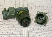 Connector 3-pin to military radio station MALE + FAMALE [M1-SZ1]