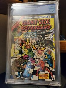 Giant Size Defenders #3 💥1st Appearance of Korvac💥