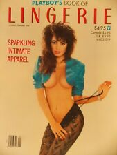 Playboy's Book of Lingerie January February 1989  #3551