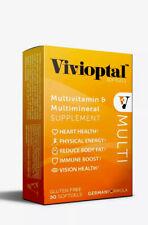 Vivioptal Multivitamin and Multimineral 30 Capsules ORIGINAL SEALED