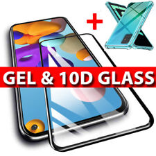 10D Tempered Glass Screen Protector SAMSUNG A21s A51 A71 A12 A42 FULL COVER/CASE