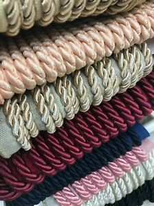 Flanged Piping Cord 2 Tone Rope 7mm Upholstery Cushions luxury, high quality