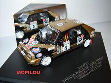 LANCIA DELTA HF 4WD ESSO N°4  SANREMO 1987 au 1/43°