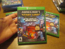 Minecraft Story Mode The Complete Adventure Xbox One BRAND NEW FACTORY SEALED