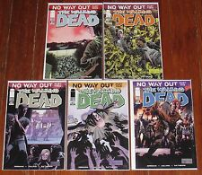 5 The Walking Dead Comics #80-84 - No Way Out - 1st Prints VF+ to NM-