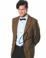 MATT SMITH.. Charismatic Actor (Doctor Who)  SIGNED