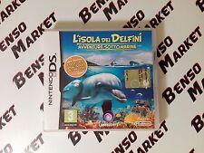 L'ISOLA DEI DELFINI AVVENTURE SOTTOMARINE NINTENDO DS 3DS 2DS ITALIANO COMPLETO