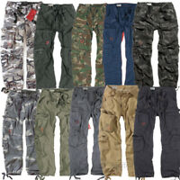 SURPLUS AIRBORNE TROUSERS RAW VINTAGE CARGO COMBAT PANTS