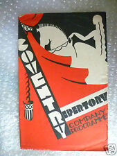 1933 Coventry Rept. Theatre Programme THE BLACK EYE- J Bridie,Raymond Black