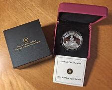 2010 Silver Proof $10 75th Anniv. of First Bank Note CANADA Case & COA