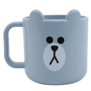 Infant Drinkingware Cute Cartoon Cups Baby Toddler Drinking Water Cups Daily Use