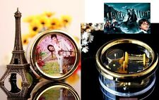 Circle Wind Up with Photo Frame Music Box :Hedwig's Theme Soundtrack