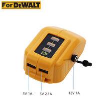Battery USB Charger for Dewalt 12v/20v Max Heated Work Jacket Adapter Dcb091
