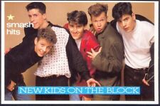 Modern Postcard: NEW KIDS ON THE BLOCK (Ref: Smash Hits). Free UK Postage