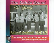 CD THE KIDDIE SOUND	vol 10	MINT	DOO WOP  (B1841)