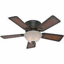Hunter Fan Company Conroy 42 Inch Ceiling Fan w/ Light, Onyx Bengal (Open Box)