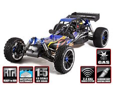 Rampage DuneRunner 1/5 Gas Powered Redcat Racing 4x4 RC RTR Buggy V3 W Remote