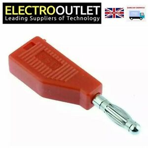 x10 x20 x50 4mm Stackable test Banana Plug Red R8-19