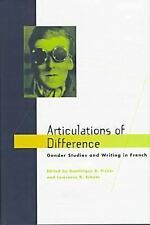 Articulations of Difference: Gender Studies and Writing in French, , Very Good B