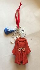 Disney Parks Christmas Holiday Sorcerer Mickey Mouse Costume on Hanger Ornament