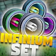 [XBOX ONE] ALL INFINIUM WHEELS (PAINTED INFINIUMS) for Rocket League! *TRUSTED*