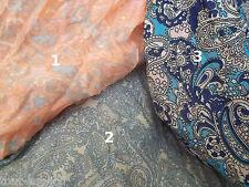 foulard motif cachemire, chèche, soie et coton, 170x80 cm,accessoire mode femme