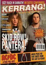 Skid Row and Pantera on Kerrang Cover 1993   AC/DC   Terrorvision   Dogs D'Amour
