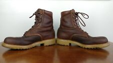 RED WING FACTORS Mens Size 11 Wide VINTAGE 1990s Leather Work Boots USA Made