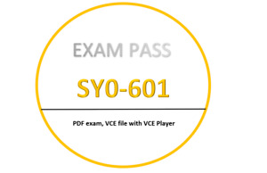CompTIA SY0-601 PDF,VCE,VCE Player - JULY updated!! 180 Questions!!